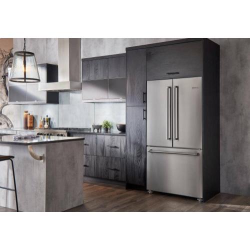 """36"""" Freestanding Counter-Depth French Door Refrigerator/Freezer"""