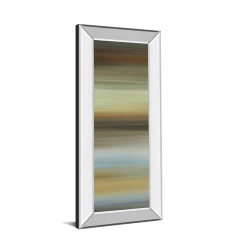 """Abstract Horizon I"" By James Mcmaster Mirror Framed Print Wall Art"