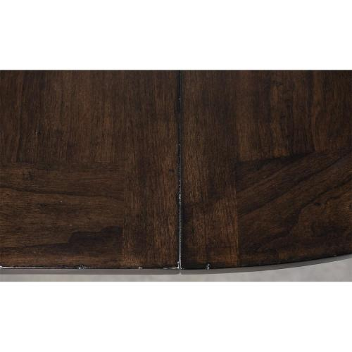 Rosemoor - Round Dining Table Base - Burnt Caramel Finish