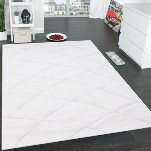 """Sorrento 722 Shag Area Rug by Rug Factory Plus - 7'6"""" x 10'3"""" / White"""