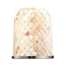 See Details - Chadwick Cappa Shell Glass with Polished Nickel Ring Included