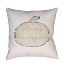 "Happy Thanksgiving HPY-001 18""H x 18""W"