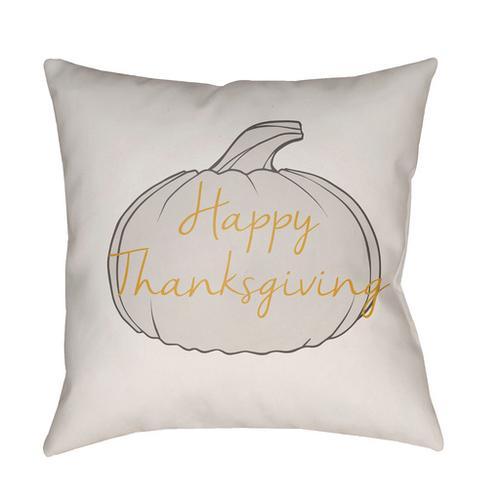 "Happy Thanksgiving HPY-001 20"" x 20"""