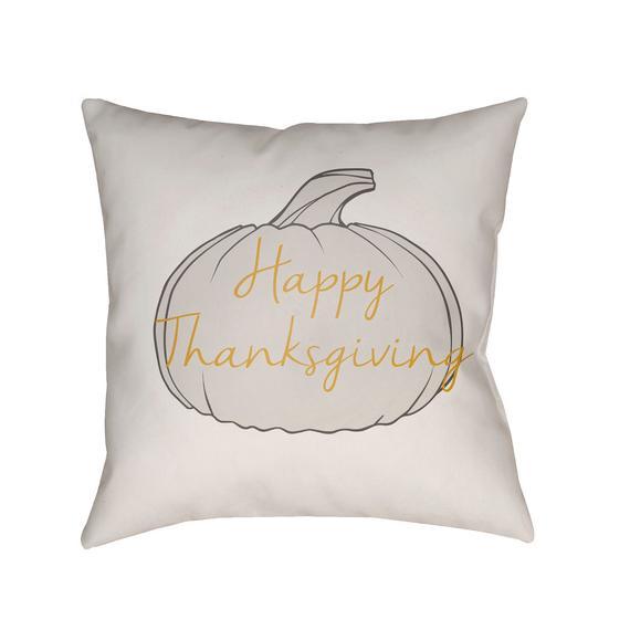 "Happy Thanksgiving HPY-001 20""H x 20""W"
