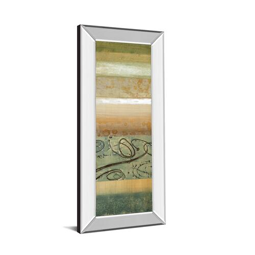 """Bluemood I"" By Selina Werbelow Mirror Framed Print Wall Art"