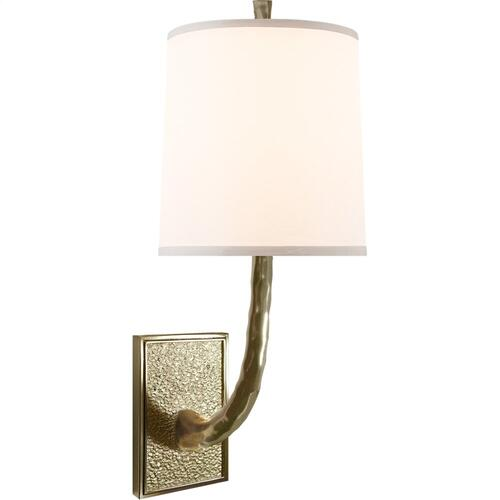 Visual Comfort BBL2030SB-S Barbara Barry Lyric Branch 1 Light 8 inch Soft Brass Decorative Wall Light