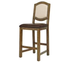 American Attitude Wood Fr Bar Stool 2/ct