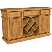 Sturbridge Buffet with Wine Rack, also Full extension glides Product Image