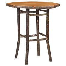 Round Pub Table - 40-inch - Natural Hickory - Armor Finish