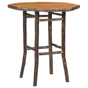 Round Pub Table - 32-inch - Cognac