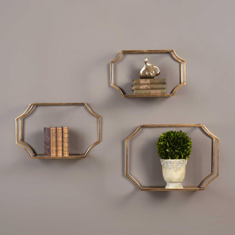 See Details - Lindee Wall Shelves, S/3