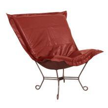 See Details - Scroll Puff Chair Avanti Apple Titanium Frame