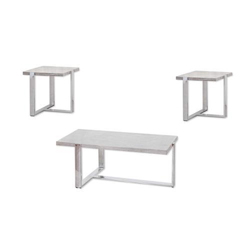Lane Home Furnishings - 7340 Cocktail Table (chrome)