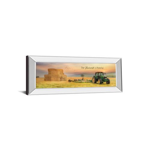 """Classy Art - """"The Harvest Is Plentiful"""" By Lori Deiter Mirror Framed Print Wall Art"""