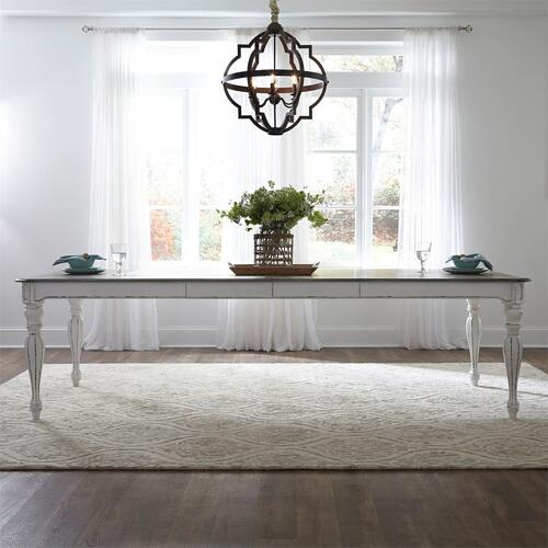 7 Piece Leg Table Set