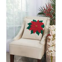 """Home for the Holiday L1893 Natural 18"""" X 18"""" Throw Pillow"""