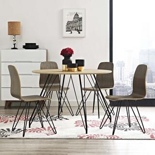 Satellite Circular Dining Table in Natural