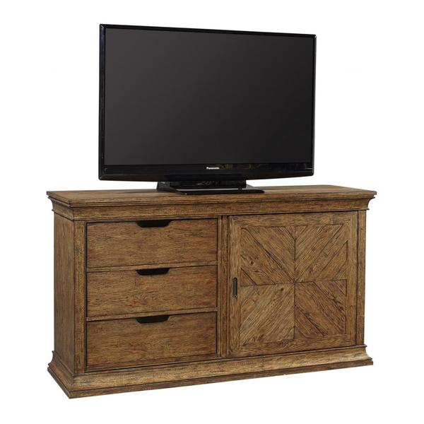 """See Details - 66"""" Console w/ Sliding Door"""