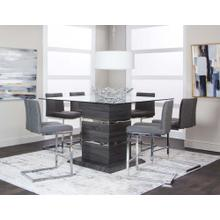 View Product - Gamma 7 Piece Pub Dining Room Set: Table & 6 Chairs