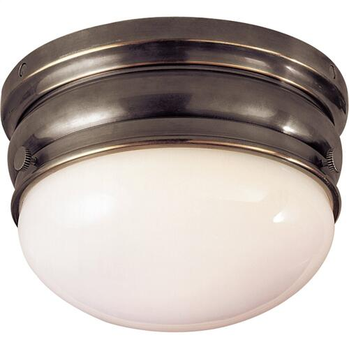 Visual Comfort CHC4201BZ E. F. Chapman Crown 1 Light 7 inch Bronze Flush Mount Ceiling Light