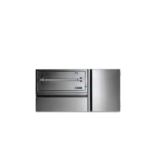 "Lynx 42"" Convenience Center w/ WD, drawer & tank storage"