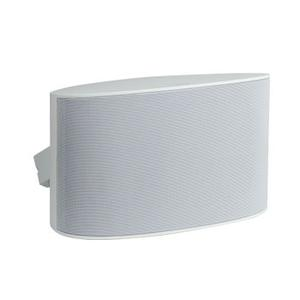 """Series Six 6.5"""" Dual Voice Coil Outdoor Speaker, White"""
