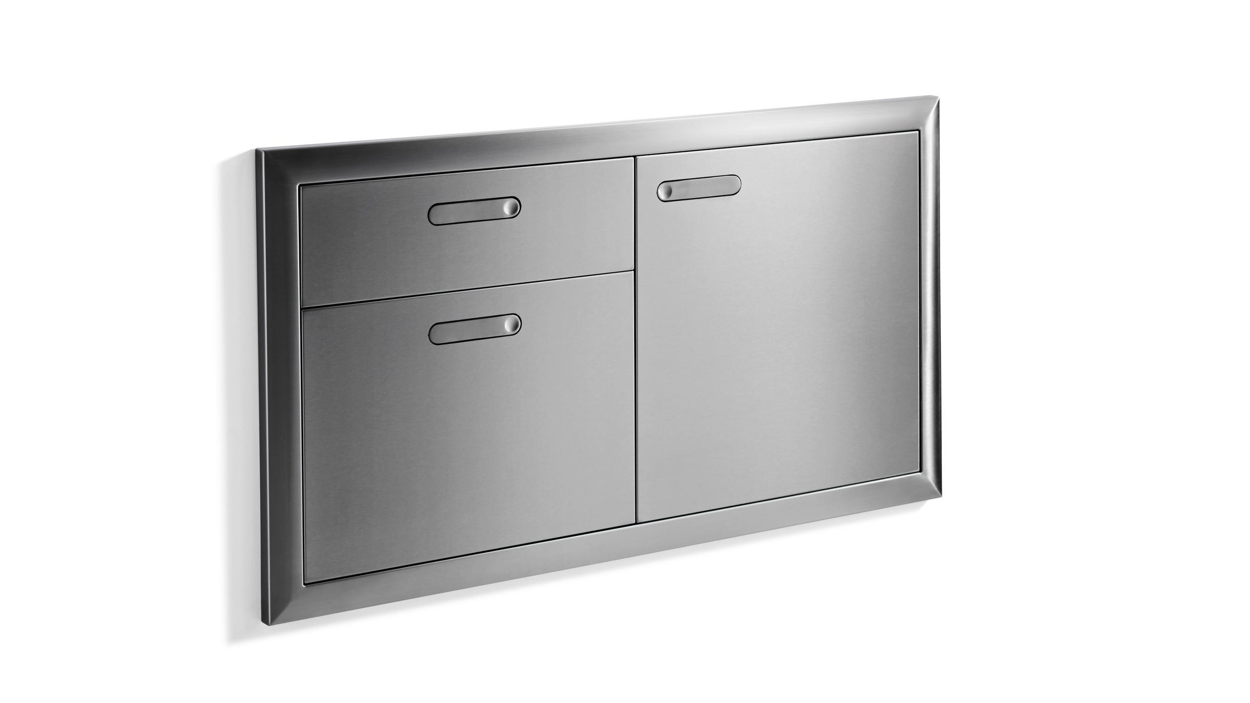 """42"""" Storage door & double drawer Photo #2"""