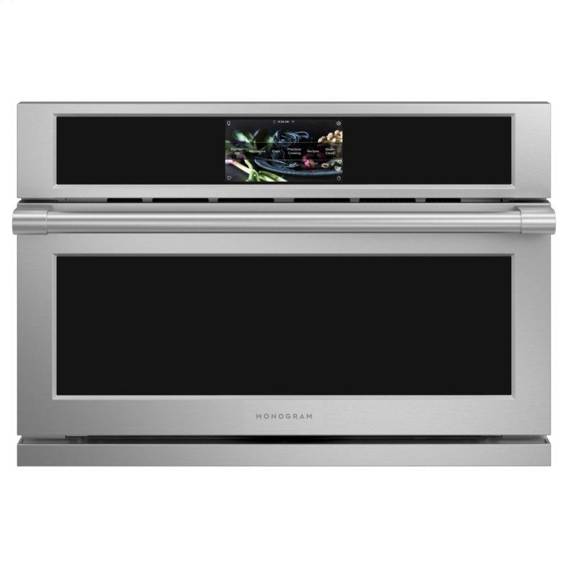 """Monogram 30"""" Smart Five in One Wall Oven with 120V Advantium(R) Technology"""