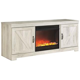 """See Details - Bellaby 63"""" TV Stand With Fireplace"""