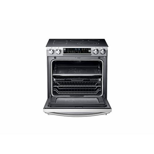 5.8 cu. ft. Slide-In Electric Range with Flex Duo™ in Stainless Steel