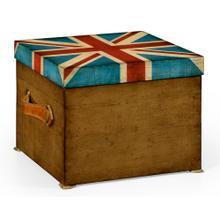 Product Image - Union Jack Square Box Painted