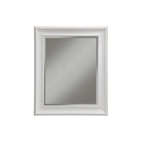 White Wall Mirror - White
