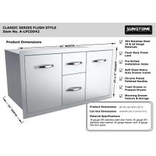 Classic Series 42-Inch Multi-Storage Warming and Cooking Drawer, Tank Tray Combo