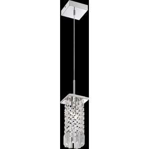 Mini-pendant, Chrome/crystal Deco., Type Jc/g4 20wx2
