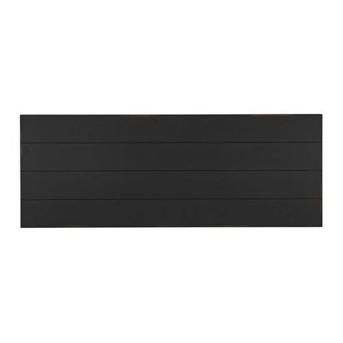Passages Console Table, Vintage Black
