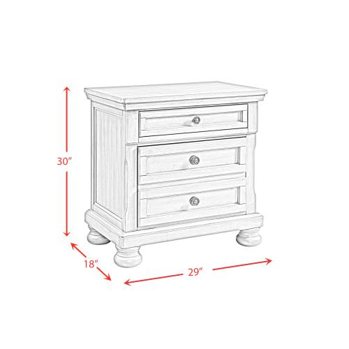 Kingston Nightstand with Power