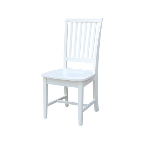 Mission Chair in Pure White