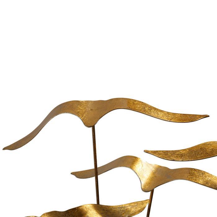 Uttermost - Flock of Seagulls Sculpture