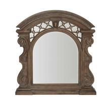 Vintage Salvage Bentley Carved Mirror