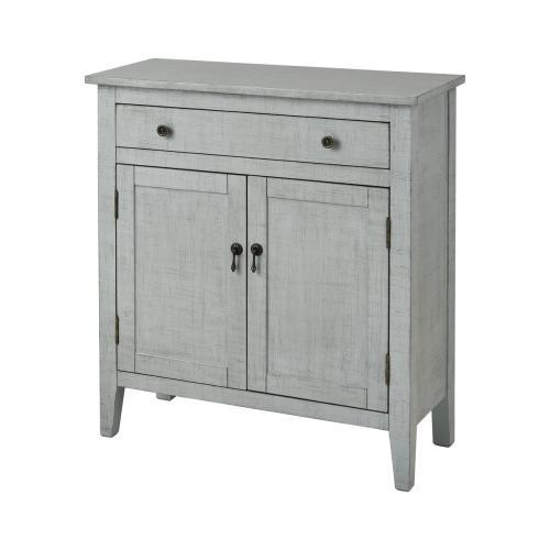 Holt 2-door 1-drawer Cabinet In Grey