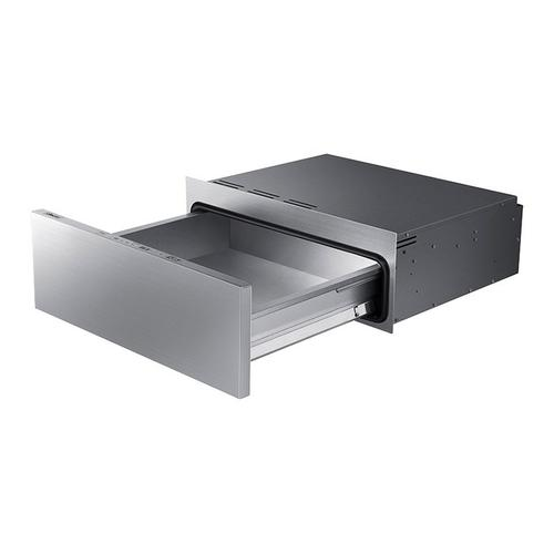"30"" Warming Drawer, Silver Stainless Steel"