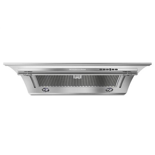 "30"" Slide-Out Hood - Stainless Steel"