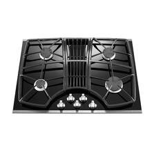 KitchenAid® 30-Inch 4-Burner Downdraft Gas Cooktop, Architect® Series II - Stainless Steel