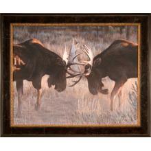 Moose Challenge 24x30 Paper