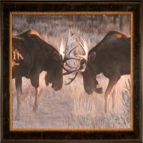 The Ashton Company - Moose Challenge 24x30 Paper