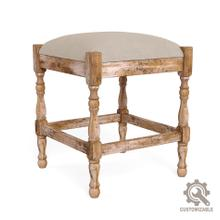Single Seat Stool Frame, Fabric