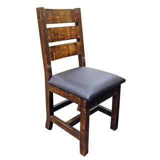 See Details - Reclaimed Padded Vinyl Chair