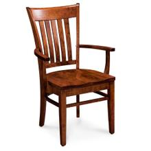 View Product - Kaskaskia Arm Chair, Wood Seat
