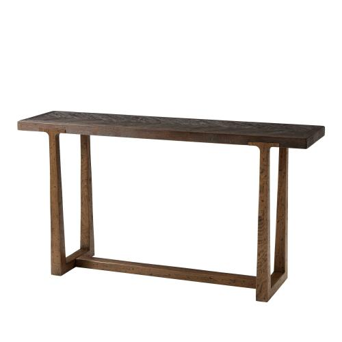 Stafford Console Table, Dark Echo Oak