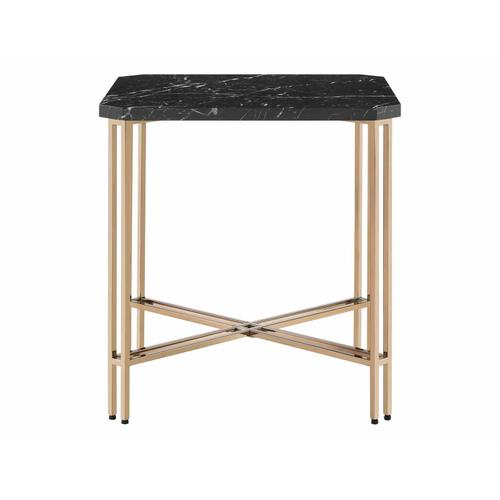 Daxton Faux-Marble 3-Piece Occasional Set (Cocktail & 2 End Tables)